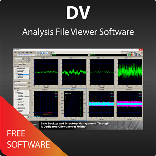 DV Analysis File Viewer Software