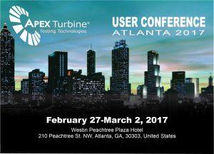 4th Annual Apex User Conference 2017
