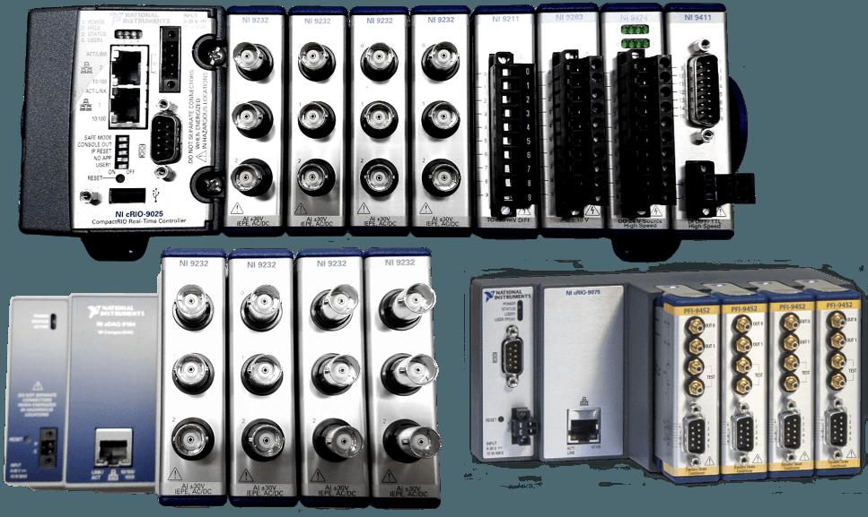 ultra-portable/NICompactRio/CompactDAQ -