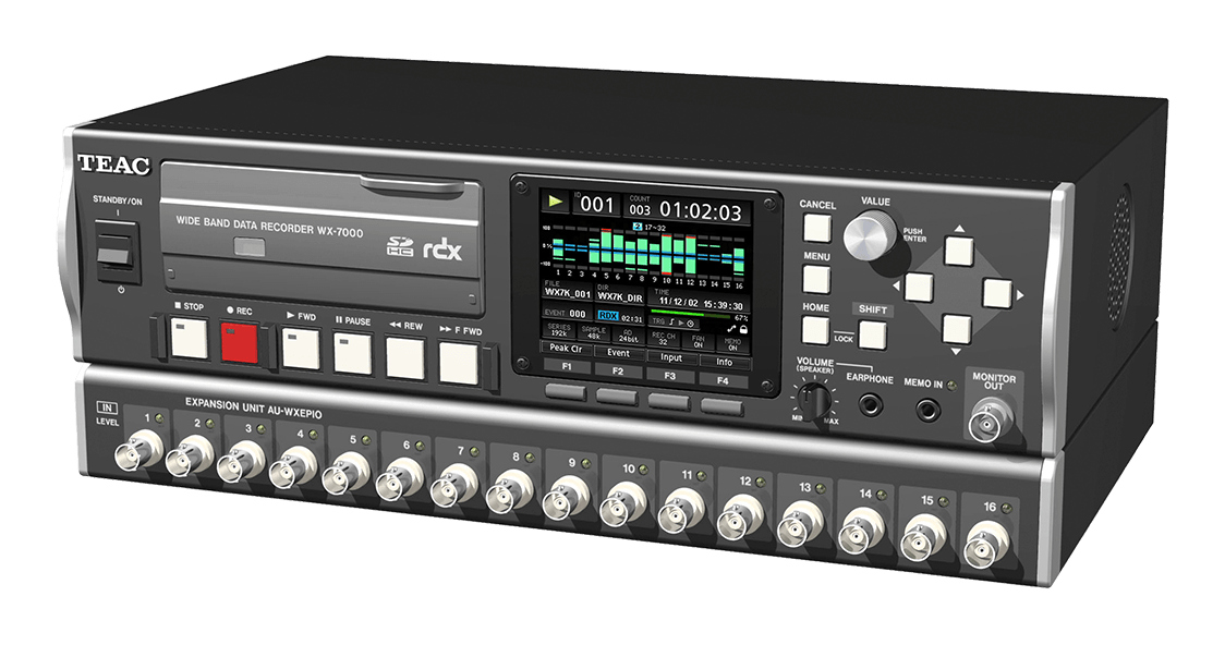 TEAC WX-7000 Data Recorder