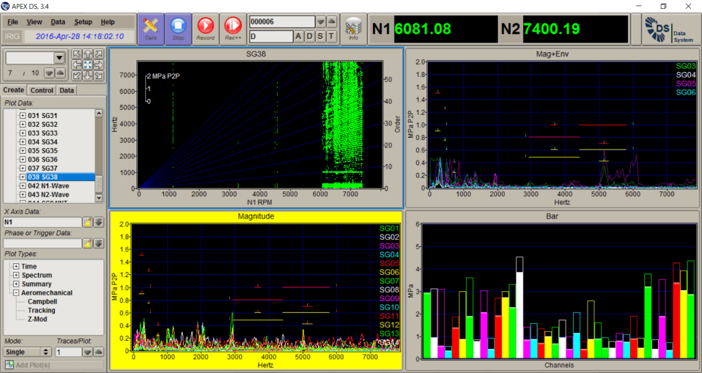 DS-Dynamic Data Acquisition Software