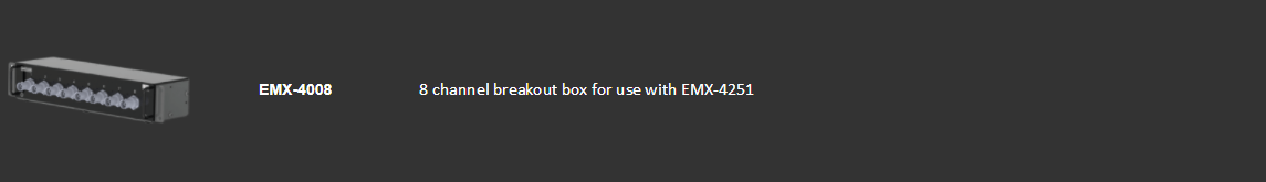 Portable-CMX09 Supported Hardware-EMX-4008 Breakout Box