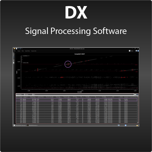 DX-Offline Signal Processing Software