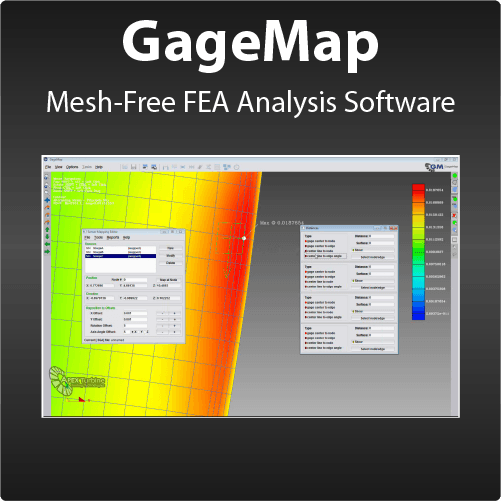 Mesh-Free FEA Post Analysis Software