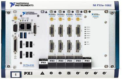 National Instruments 64 Channel NI PXIe-1082 System