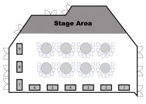 2018 UC Vendor Floor Plan