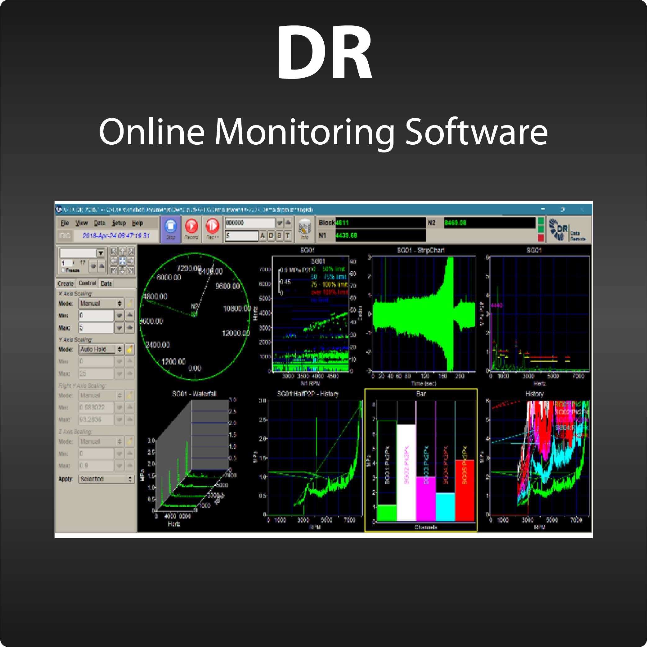 DR-Monitoring Station Software