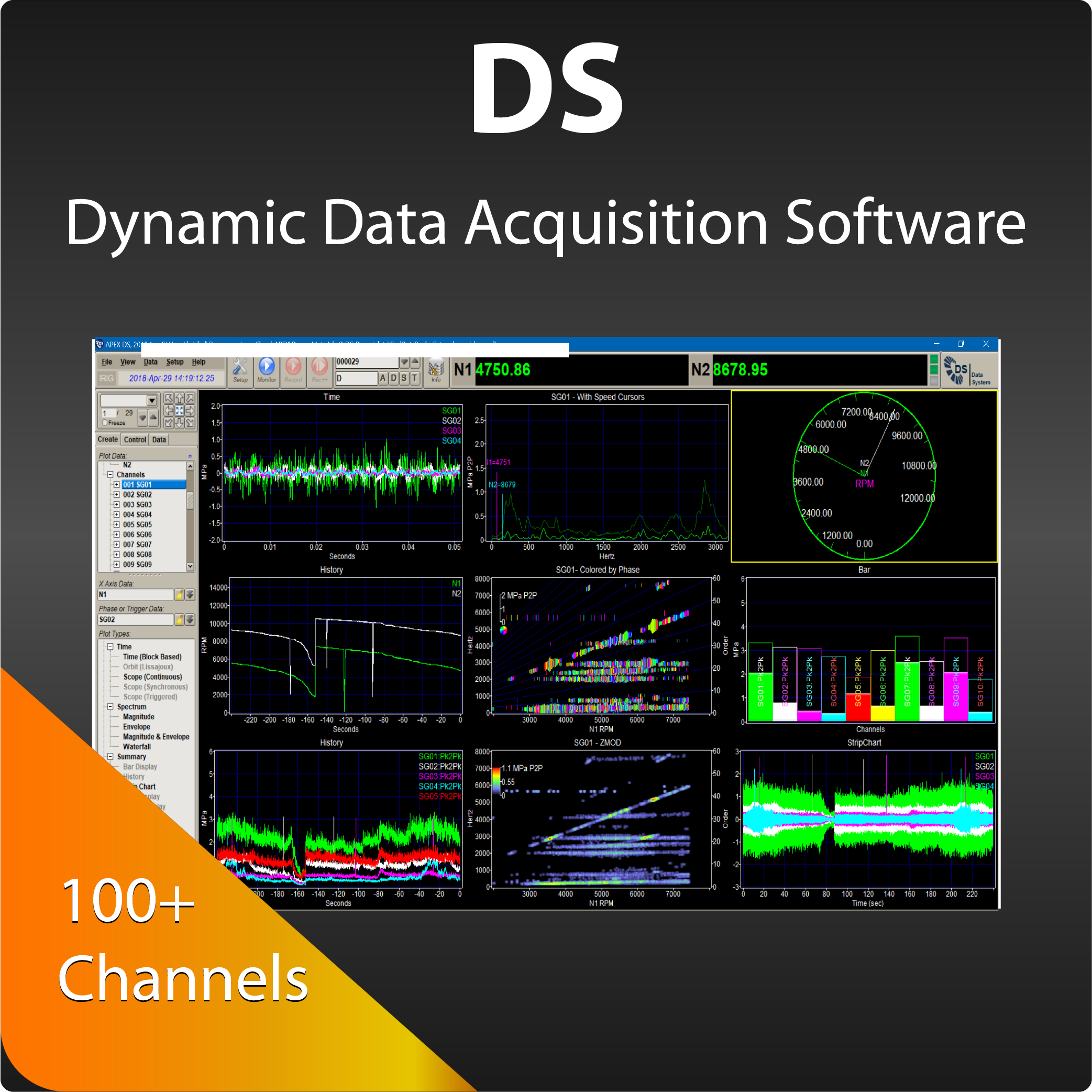 DS-Dynamic Data Acquisition Software -