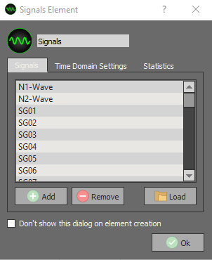 DX Software Edit Signals