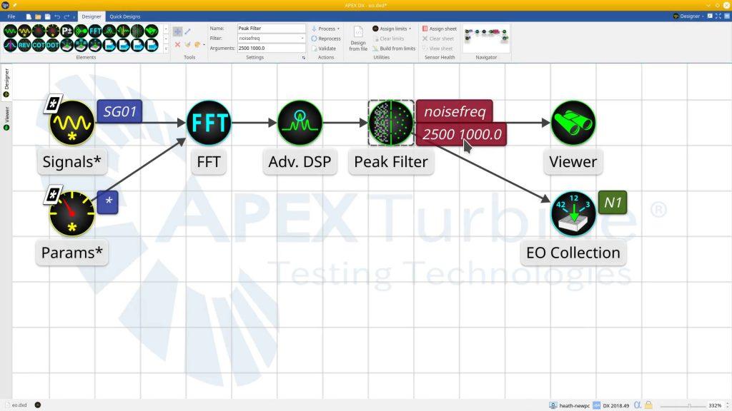 APEX DX-EO Collection-Peak Filter