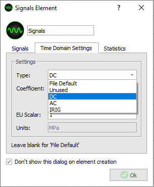 DX-If units can not be integrated, integration will not be shown in the dropdown