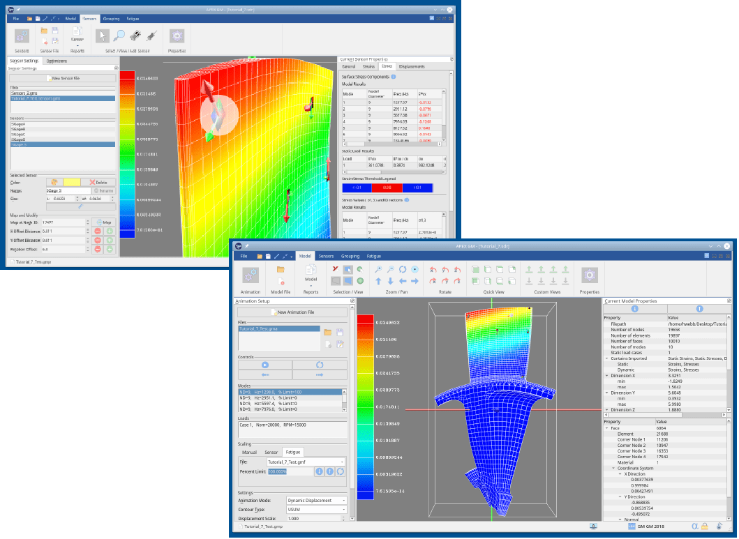 GageMap Sensor Placement and FEA Analysis Software