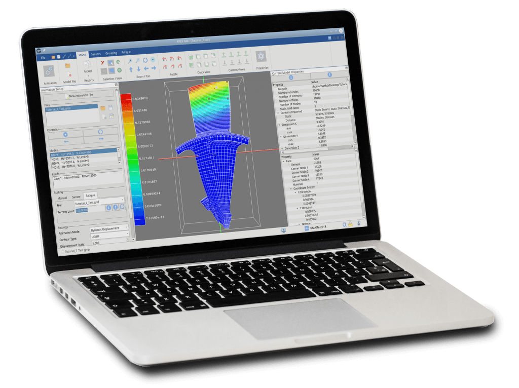 GageMap Sensor Placement Software-Fatigue Analysis