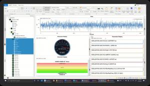 DX Offline Analysis Software-Parameter Displays
