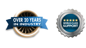 Over 20 Years in Industry with World-Class Support